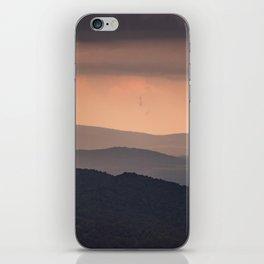 Blue Ridge Parkway Sunset - Shenandoah National Park iPhone Skin