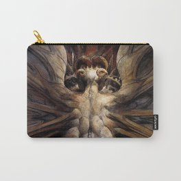 The Great Red Dragon and the Woman Clothed in Sun William Blake Carry-All Pouch