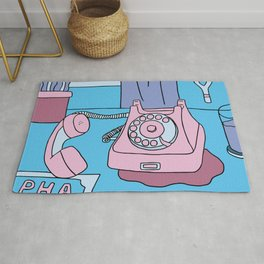 Hung Up Rug