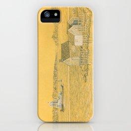 Willard Beach Fishing Shacks iPhone Case