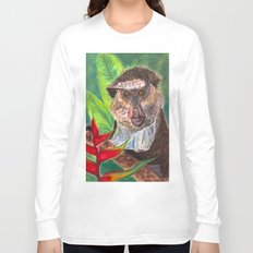 Mona Monkey Long Sleeve T-shirt