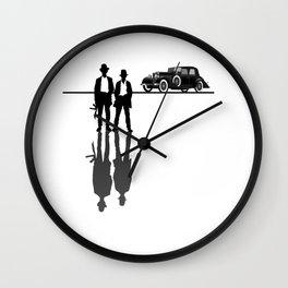 Roaring 20s Gangster Mob Mafia 1920s Gift Wall Clock