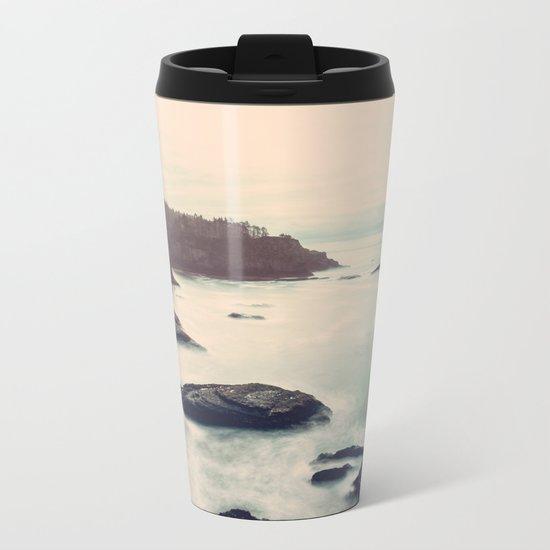 Ocean Motion Metal Travel Mug