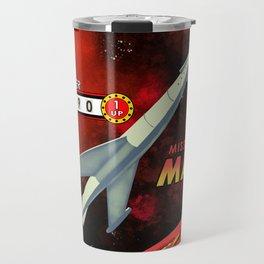 Mission To Mars Retro Pinball Travel Mug