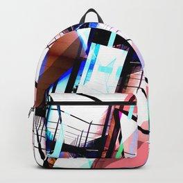 Blue & Pink Cristal Light Backpack