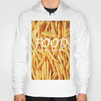 food Hoodies featuring Food by The Fifth Motion