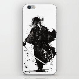 Samurai ronin iPhone Skin