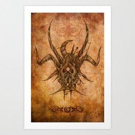 Zodiac: Taurus Art Print