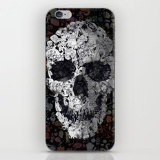 Doodle Skull iPhone & iPod Skin