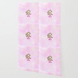 Chimply Marvelous Cute Monkey Pun Wallpaper
