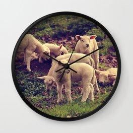 Lambs Wall Clock