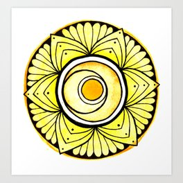 Sacral Chakra Art Print