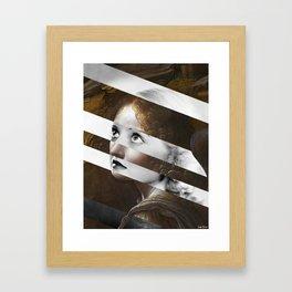 Leonardo Da Vinci's Angel & Bette Davis Framed Art Print