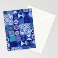 Mosaic Tile Stationery Cards
