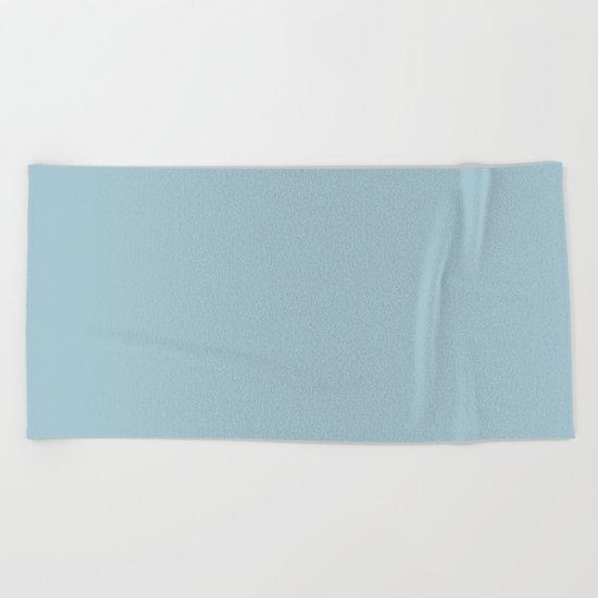 Tropical Waters Blue Beach Towel