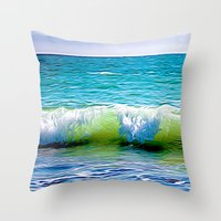 sublime Throw Pillows featuring SubLime by kitaSaurus
