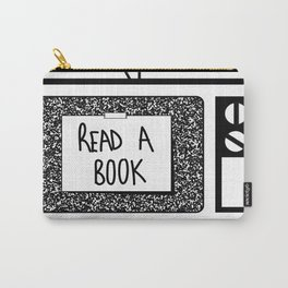READ A BOOK Carry-All Pouch
