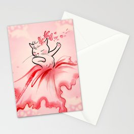 Dancing Flora Child Stationery Cards