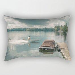 A Slice of Life Rectangular Pillow