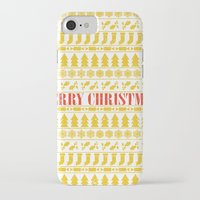 merry christmas iPhone & iPod Cases featuring Christmas Merry! by Fimbis