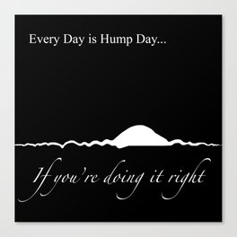 Hump Day Canvas Print