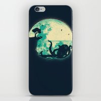 squid iPhone & iPod Skins featuring The Big One by Jay Fleck