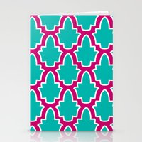 moroccan Stationery Cards featuring Moroccan by Farah Saheb
