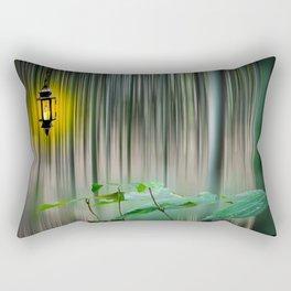 Motion Blur Rectangular Pillow