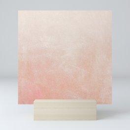 Peachy Ombre Mini Art Print
