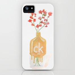 Flower vase-Watercolor iPhone Case