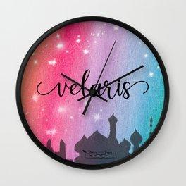 Velaris City Scape Wall Clock