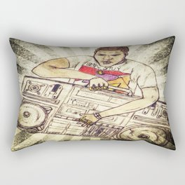 Radio Raheem Rectangular Pillow
