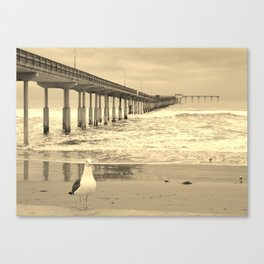 Another storm about to roll in Canvas Print