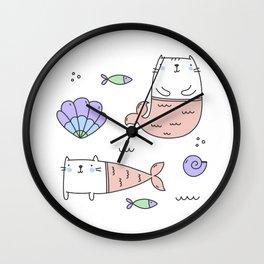 Merkats Coral Wall Clock