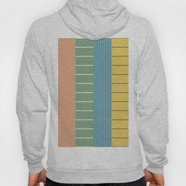 Pastel Retro Stripes Hoody