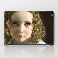 manga iPad Cases featuring Manga Mila by micklyn
