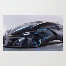 Concept Car Chevy Rug