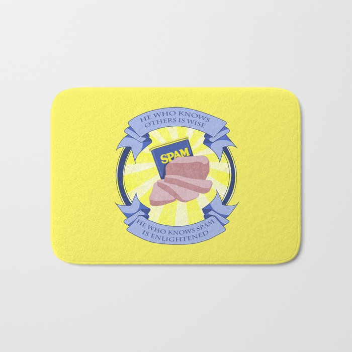 The Spam of Enlightenment Bath Mat