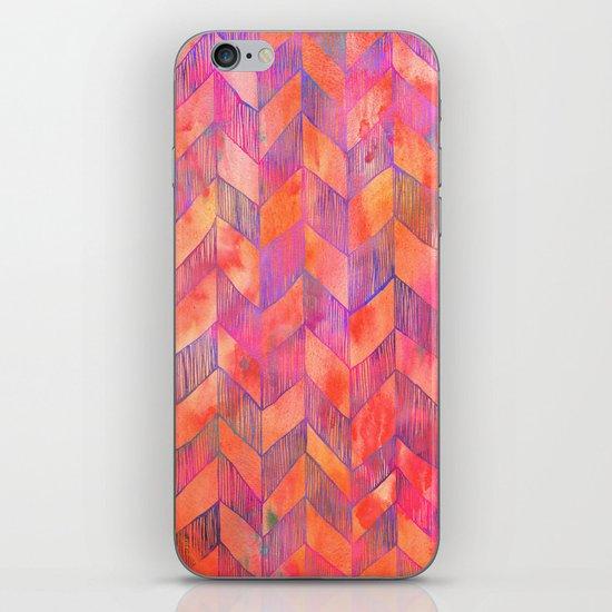 PATTERN {Chevron 012} iPhone & iPod Skin