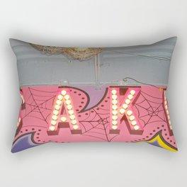 Cake ~ pop carnival signage Rectangular Pillow