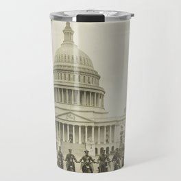 Vintage Motorcycle Police - Washington DC Travel Mug