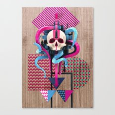BeautifulDecay II Canvas Print