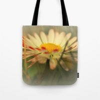 daisy Tote Bags featuring Daisy by Falko Follert Art-FF77