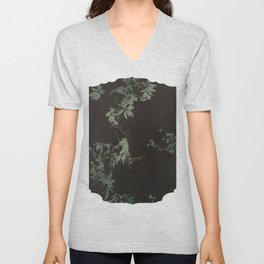 a morbid longing for the picturesque Unisex V-Neck