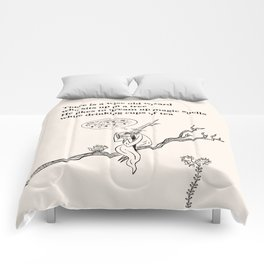 There Is a Wise Old Wizard Comforters