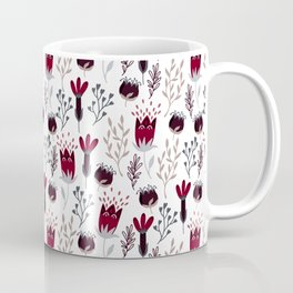 Winter Garden Pattern Coffee Mug