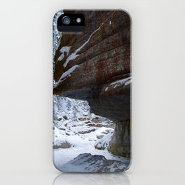 Maligne Canyon Icewalk iPhone Case
