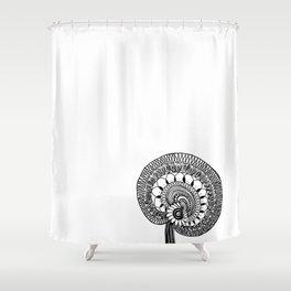 Wild Mushroom Shower Curtain