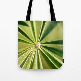 Lupine Leaves Tote Bag
