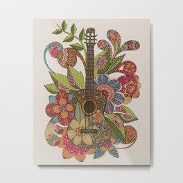 Ever Guitar Metal Print